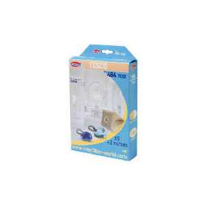 Photo of 484 Interfilter Tesco VC206 Vacuum Bags 5 PK Vacuum Cleaner Accessory