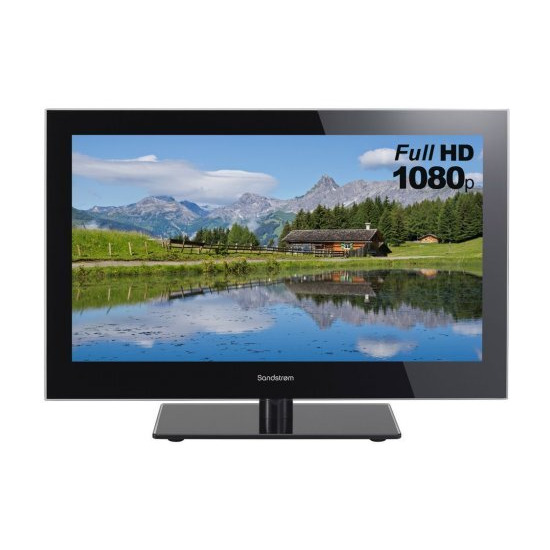 "SANDSTROM S24FED12 24"" LED TV with Built-in DVD Player"