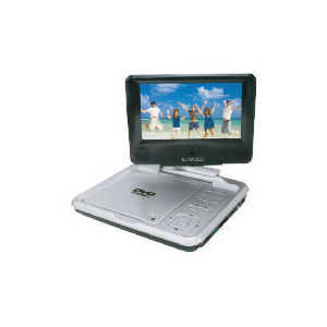 "Photo of Curtis DVD7026 7"" Swivel Portable DVD Player DVD Player"