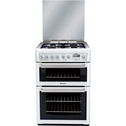 Hotpoint Dual Fuel Cooker EG74P Polar White Reviews