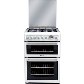 Hotpoint Dual Fuel Cooker EG74P Polar White Reviews