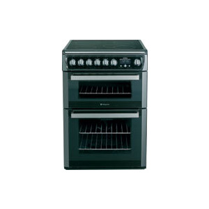 Photo of Hotpoint Dual Fuel Cooker EG74X Stainless Steel Cooker