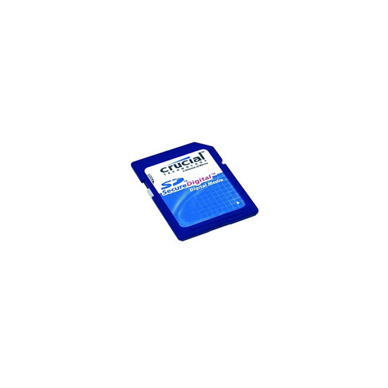 Crucial 2GB SD Memory Card