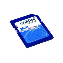 Crucial - Flash memory card - 1 GB - SD Memory Card Reviews