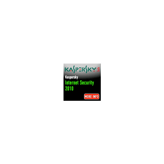 Kaspersky Internet Security 2010 5 Users 1 Year
