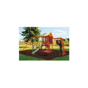 Photo of Selwood Carlise Fort With Monkey Bar & Swing Beam Toy