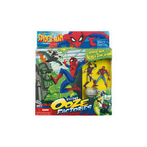 Photo of Spiderman Ooz Factory Playset Assortment Toy