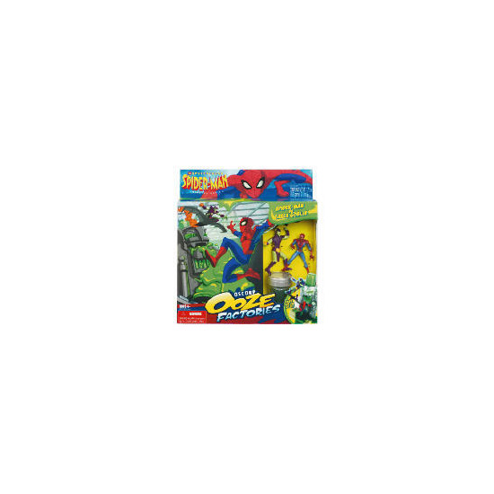 Spiderman Ooz Factory Playset Assortment