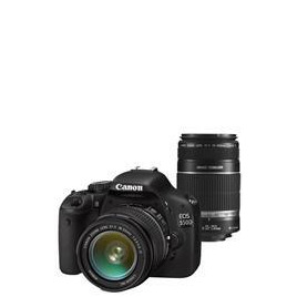 Canon EOS 550D with 18-55mm and 55-250mm lenses Reviews