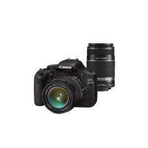 Photo of Canon EOS 550D With 18-55MM and 55-250MM Lenses Digital Camera