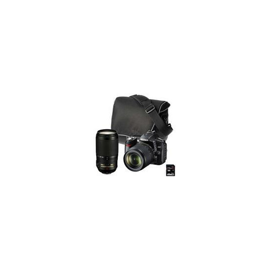 Nikon D90 with 18-105mm VR and 70-300mm lenses