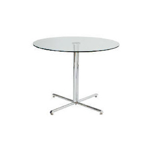 Photo of Luna Dining Table, Clear Furniture