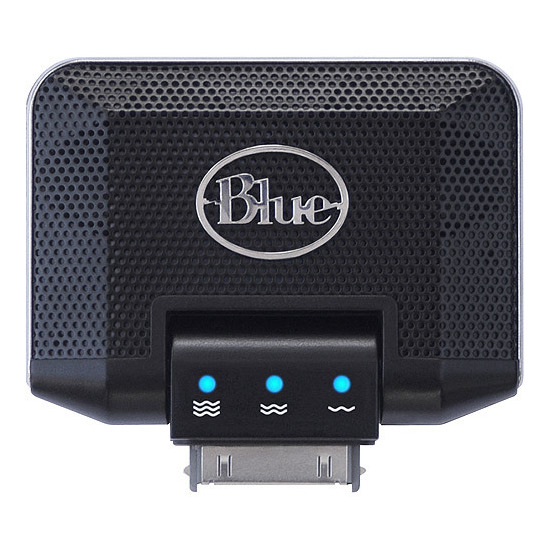 Blue Mikey iPod Recorder