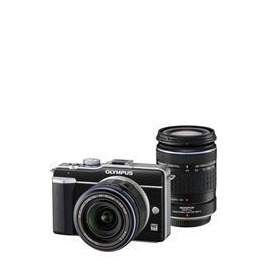 Olympus E-PL1 with 14-42mm and 40-150mm lenses Reviews