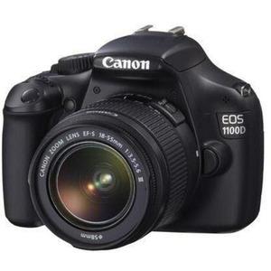 Photo of Canon EOS 1100D Kit 1 Black 18-55MM Non IS Lens Desktop Tripod SLR Bag 8GB SD Digital Camera