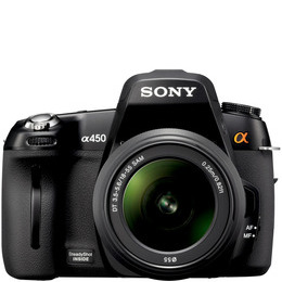 Sony DSLR-A450L with 18-55mm lens Reviews