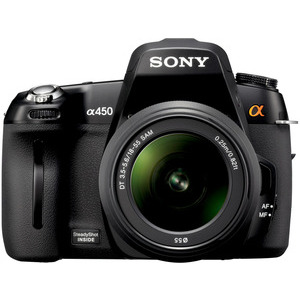 Photo of Sony DSLR-A450L With 18-55MM Lens Digital Camera