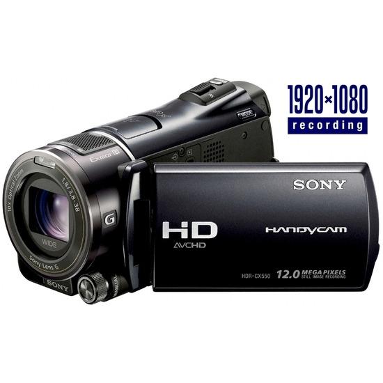 Sony Handycam HDR-CX550VE