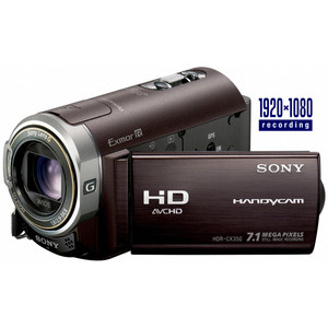 Photo of Sony Handycam HDR-CX350 Camcorder