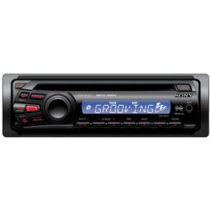 Photo of SONY CDX-GT25 Car Stereo
