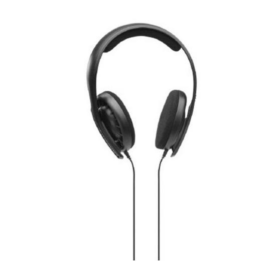 Sennheiser HD 407 Headphones - Black