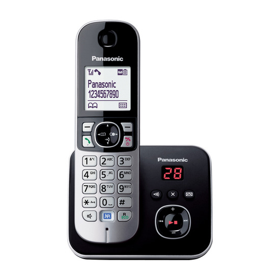 Panasonic KX-TG6821EB Cordless Phone with Answering Machine