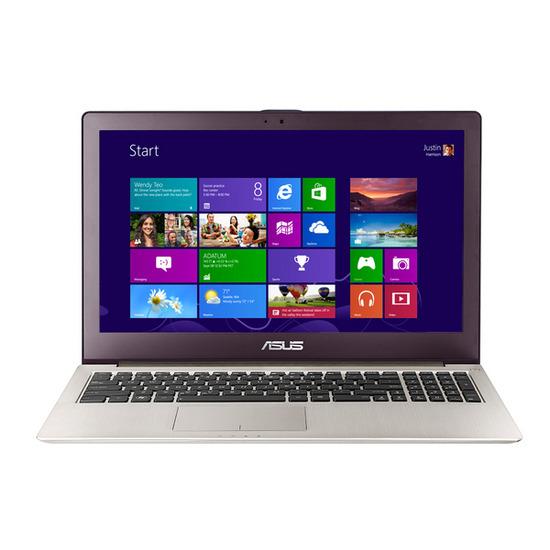 "ASUS Zenbook U500VZ-CM051H 15.6"" Touchscreen Laptop - Silver"