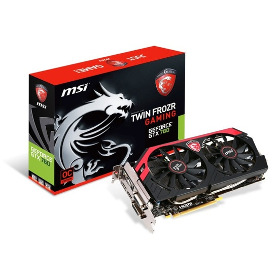 MSI GTX 760 TwinFrozr N760 TF 2GD5/OC 2GB