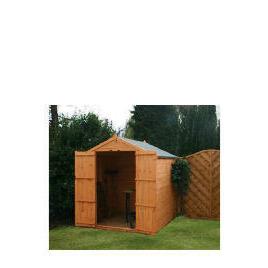 6x6 Apex 8mm Shiplap shed no window double doors Reviews