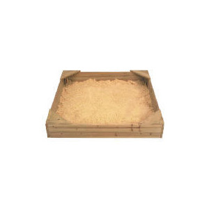 Photo of Selwood Wooden Sandpit With Lid Toy