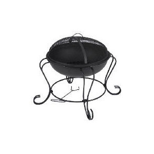 Photo of Tesco Small Round Fire Pit Garden Equipment