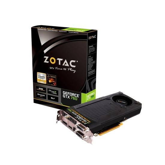 Zotac GeForce GTX760 2GB ZT-70401-10P