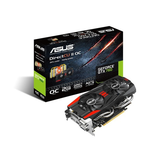 Asus GTX 760 Direct CU II 2GB GTX760-DC2OC-2GD5