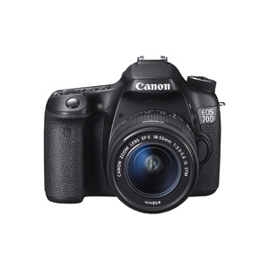 Photo of Canon EOS 70D With 18-55 mm Lens Digital Camera