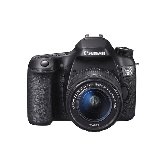 Canon EOS 70D with 18-55 mm Lens