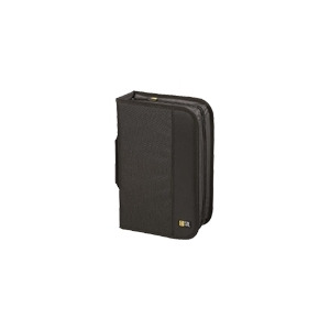 Photo of Case Logic CDW 92 - Wallet For CD/DVD Discs - 92 Discs - Nylon - Black CD and DVD Storage