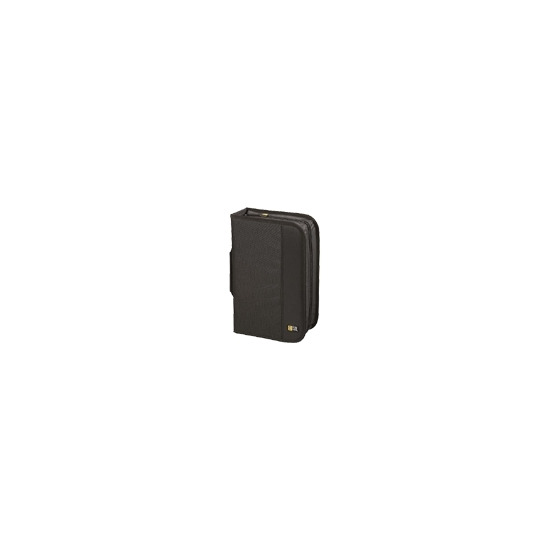 Case Logic CDW 92 - Wallet for CD/DVD discs - 92 discs - nylon - black