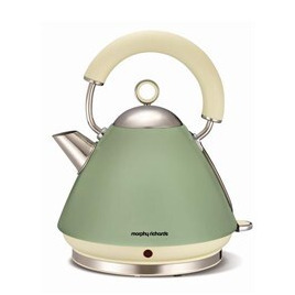 Morphy Richards Accents 102001 Pyramid Traditional Kettle - Sage Green Reviews