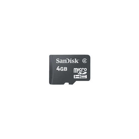 SanDisk Micro SDHC 4GB Memory card