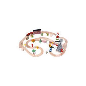 Photo of Thomas Wooden Knapford Station Playtable Set Toy