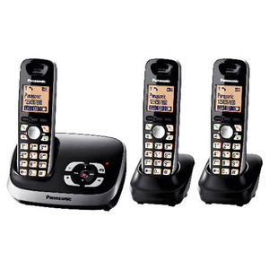 Photo of Panasonic KX-TG6523EB Landline Phone