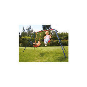 Photo of Tesco Double Swing Set Toy