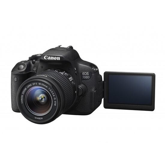 Canon EOS 700D with 18-55mm IS STM Lens Kit