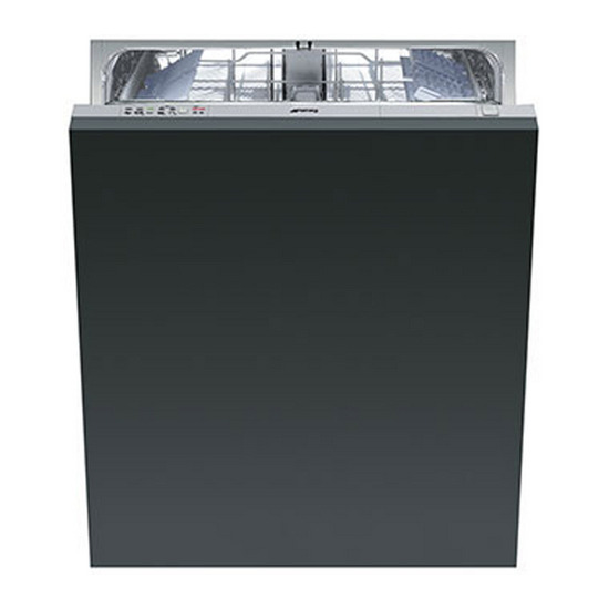 SMEG DI45CL Stainless steel 450mm fully integrated dishwasher