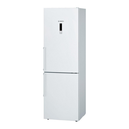 Bosch KGN36XW30G Fridge Freezer - White