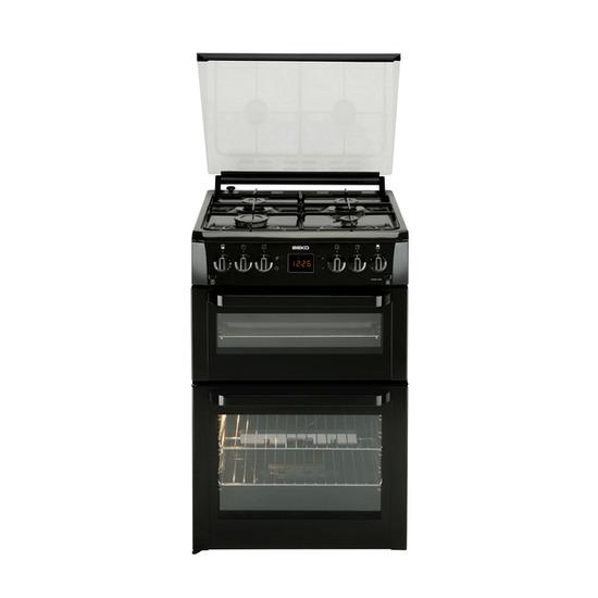 BEKO BDVG697KP Gas Cooker - Black