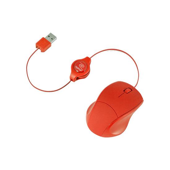 RETRAK RTK026 Retractable Laser Mouse - Red