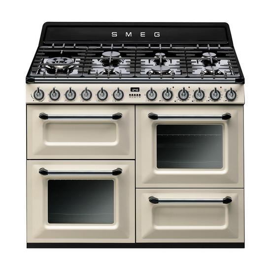 SMEG TR4110P1 Dual Fuel Range Cooker & KT110P Chimney Cooker Hood