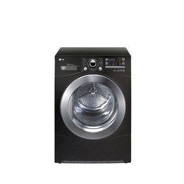 LG RC9055BP2Z Heat Pump Condenser Tumble Dryer - Black Reviews