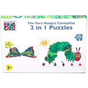 Photo of Paul Lamond Hungry Caterpillar 2-In-1  Board Games and Puzzle